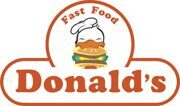 Donald`s logo NEW
